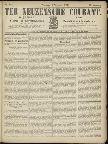 Ter Neuzensche Courant. Algemeen Nieuws- en Advertentieblad voor Zeeuwsch-Vlaanderen / Neuzensche Courant ... (idem) / (Algemeen) nieuws en advertentieblad voor Zeeuwsch-Vlaanderen 1889-11-06