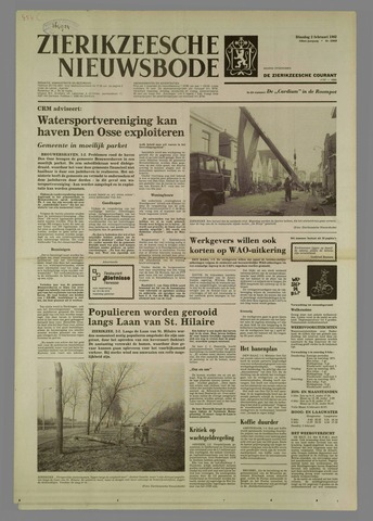 Zierikzeesche Nieuwsbode 1982-02-02