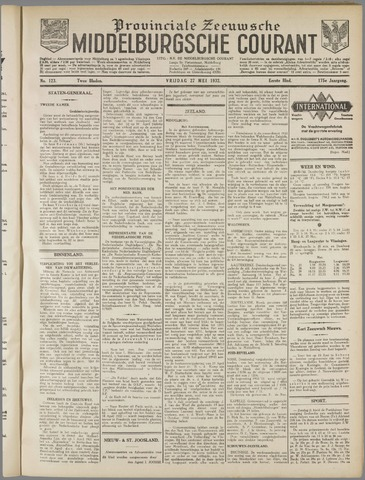 Middelburgsche Courant 1932-05-27