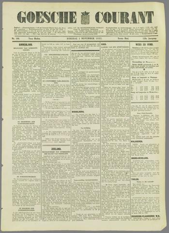 Goessche Courant 1932-11-01