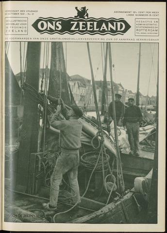Ons Zeeland / Zeeuwsche editie 1931-10-23