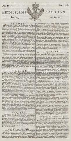 Middelburgsche Courant 1762-06-19
