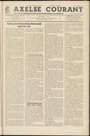 Axelsche Courant 1967-07-08
