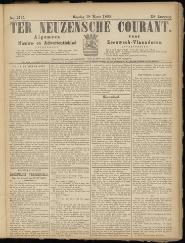 Ter Neuzensche Courant. Algemeen Nieuws- en Advertentieblad voor Zeeuwsch-Vlaanderen / Neuzensche Courant ... (idem) / (Algemeen) nieuws en advertentieblad voor Zeeuwsch-Vlaanderen 1899-03-28
