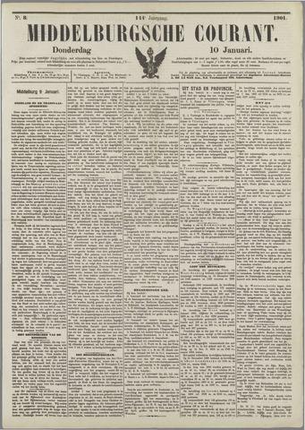 Middelburgsche Courant 1901-01-10