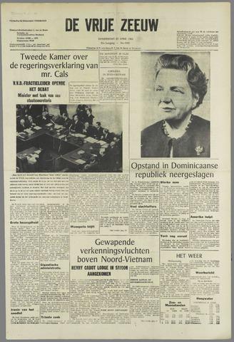 de Vrije Zeeuw 1965-04-29