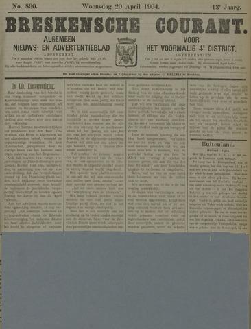 Breskensche Courant 1904-04-20