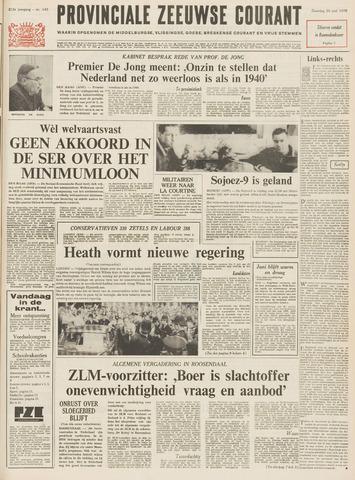 Provinciale Zeeuwse Courant 1970-06-20