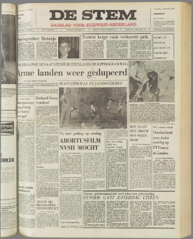 de Stem 1971-11-01