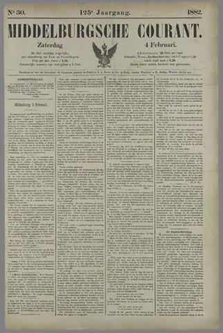 Middelburgsche Courant 1882-02-04
