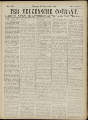 Ter Neuzensche Courant. Algemeen Nieuws- en Advertentieblad voor Zeeuwsch-Vlaanderen / Neuzensche Courant ... (idem) / (Algemeen) nieuws en advertentieblad voor Zeeuwsch-Vlaanderen 1919-09-23