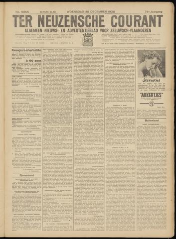 Ter Neuzensche Courant. Algemeen Nieuws- en Advertentieblad voor Zeeuwsch-Vlaanderen / Neuzensche Courant ... (idem) / (Algemeen) nieuws en advertentieblad voor Zeeuwsch-Vlaanderen 1938-12-28