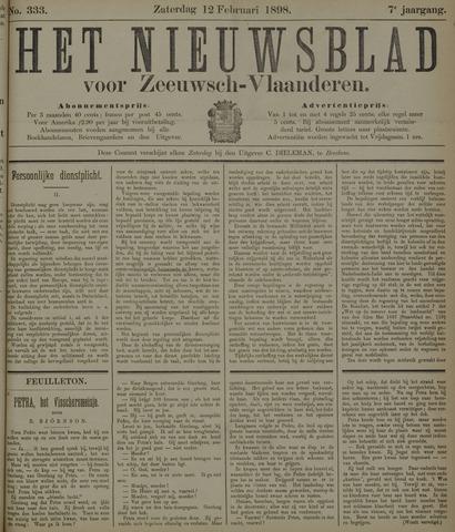 Nieuwsblad voor Zeeuwsch-Vlaanderen 1898-02-12