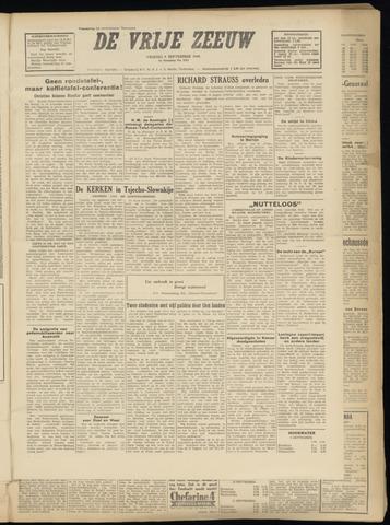 de Vrije Zeeuw 1949-09-09