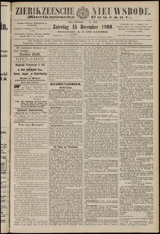 Zierikzeesche Nieuwsbode 1900-12-15