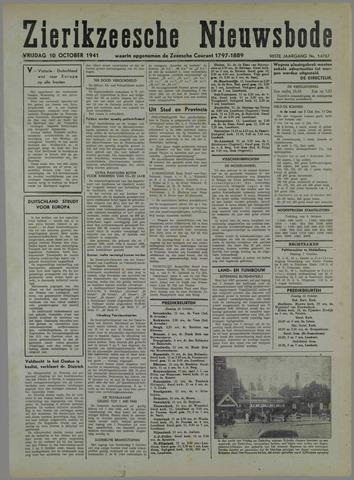 Zierikzeesche Nieuwsbode 1941-10-03