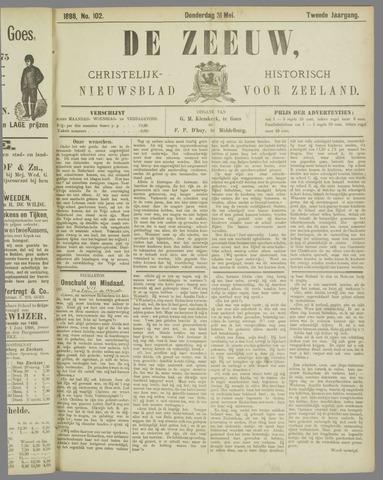 De Zeeuw. Christelijk-historisch nieuwsblad voor Zeeland 1888-05-31