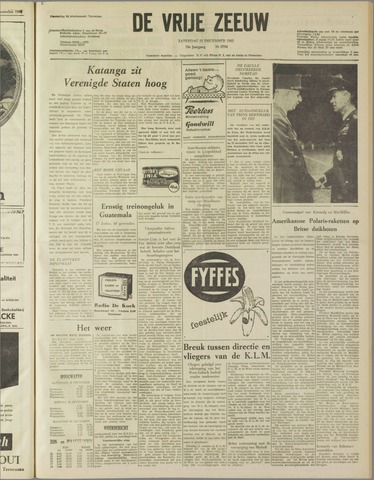 de Vrije Zeeuw 1962-12-22