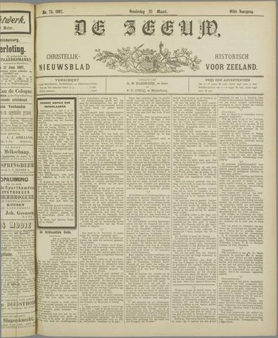 De Zeeuw. Christelijk-historisch nieuwsblad voor Zeeland 1897-03-25