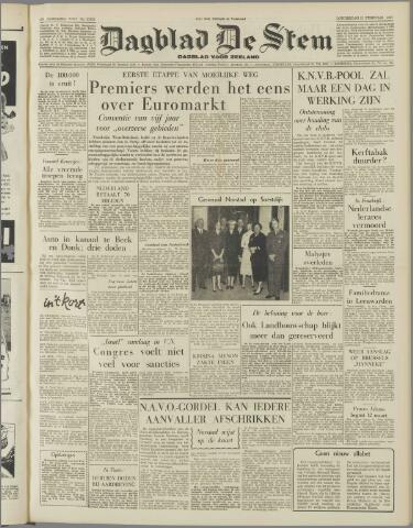 de Stem 1957-02-21