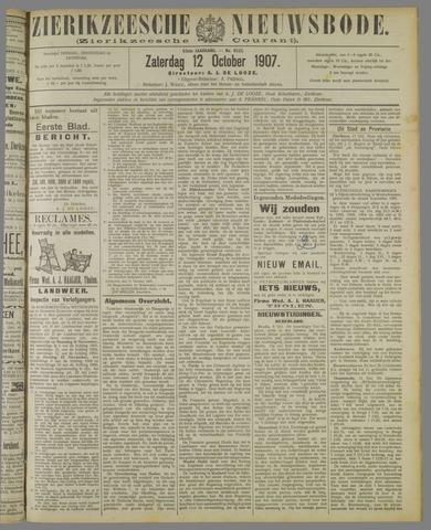 Zierikzeesche Nieuwsbode 1907-10-12