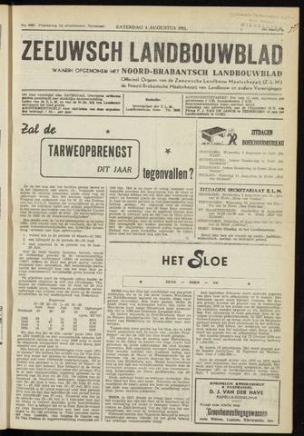 Zeeuwsch landbouwblad ... ZLM land- en tuinbouwblad 1951-08-04