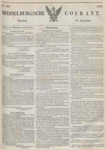 Middelburgsche Courant 1867-08-13