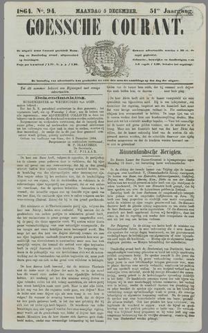 Goessche Courant 1864-12-05