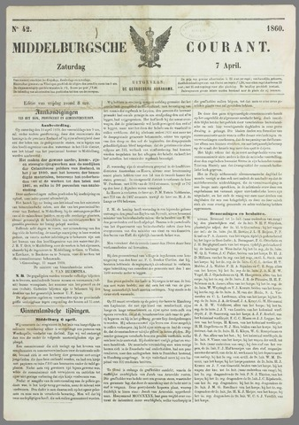Middelburgsche Courant 1860-04-07