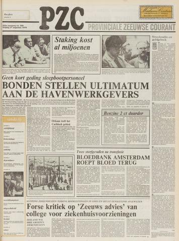 Provinciale Zeeuwse Courant 1979-08-31