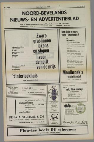 Noord-Bevelands Nieuws- en advertentieblad 1962-06-02