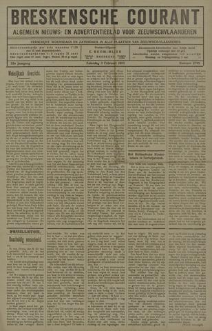 Breskensche Courant 1923-02-03