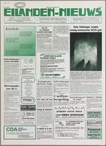 Eilanden-nieuws. Christelijk streekblad op gereformeerde grondslag 1990-12-21