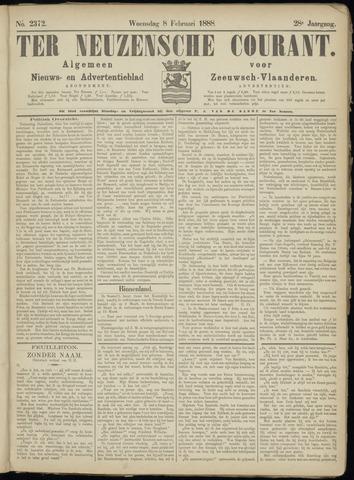 Ter Neuzensche Courant. Algemeen Nieuws- en Advertentieblad voor Zeeuwsch-Vlaanderen / Neuzensche Courant ... (idem) / (Algemeen) nieuws en advertentieblad voor Zeeuwsch-Vlaanderen 1888-02-08