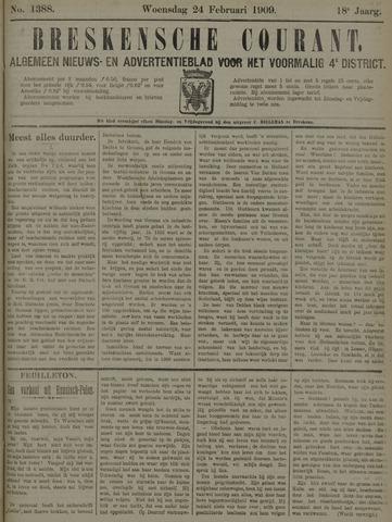 Breskensche Courant 1909-02-24