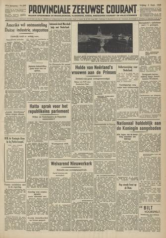 Provinciale Zeeuwse Courant 1948-09-03