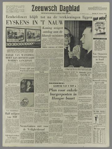 Zeeuwsch Dagblad 1961-02-21