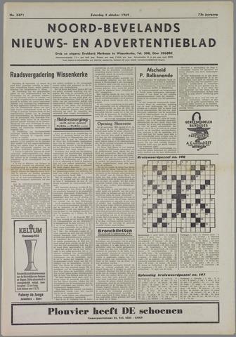 Noord-Bevelands Nieuws- en advertentieblad 1969-10-04