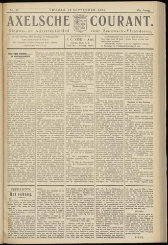 Axelsche Courant 1930-09-12