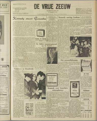 de Vrije Zeeuw 1961-04-22