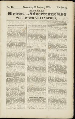 Ter Neuzensche Courant. Algemeen Nieuws- en Advertentieblad voor Zeeuwsch-Vlaanderen / Neuzensche Courant ... (idem) / (Algemeen) nieuws en advertentieblad voor Zeeuwsch-Vlaanderen 1862-01-29