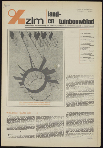 Zeeuwsch landbouwblad ... ZLM land- en tuinbouwblad 1973-12-28