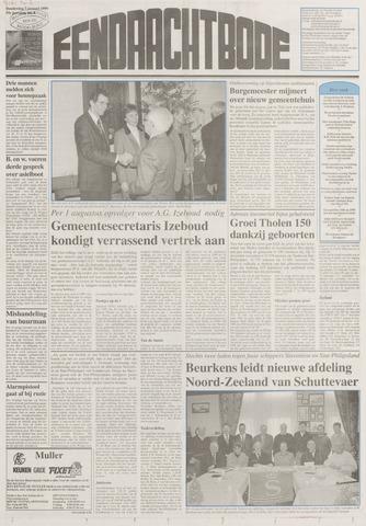 Eendrachtbode (1945-heden)/Mededeelingenblad voor het eiland Tholen (1944/45) 1999-01-07