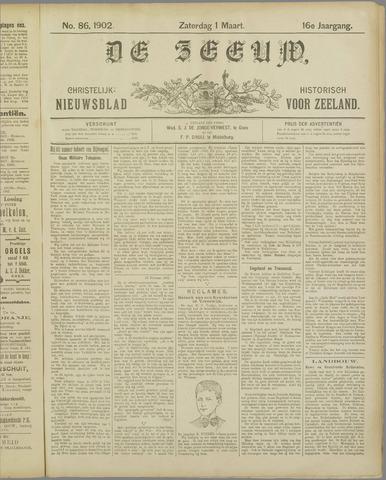 De Zeeuw. Christelijk-historisch nieuwsblad voor Zeeland 1902-03-01