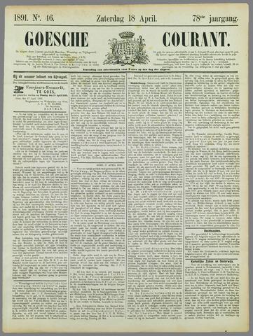 Goessche Courant 1891-04-18