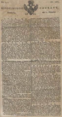Middelburgsche Courant 1775-12-21