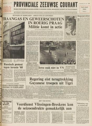 Provinciale Zeeuwse Courant 1969-08-21