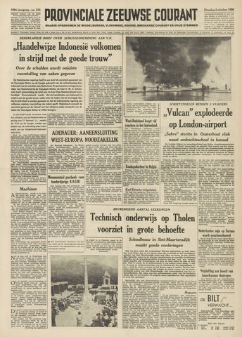 Provinciale Zeeuwse Courant 1956-10-02
