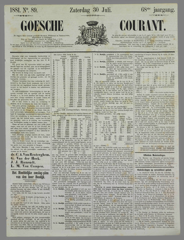Goessche Courant 1881-07-30