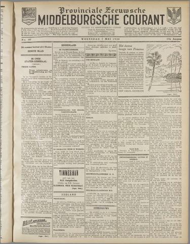 Middelburgsche Courant 1930-05-07